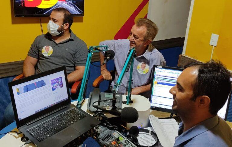 """Trabalharemos para recuperar o tempo perdido"""", disse Joãozinho Félix em programa de rádio"""