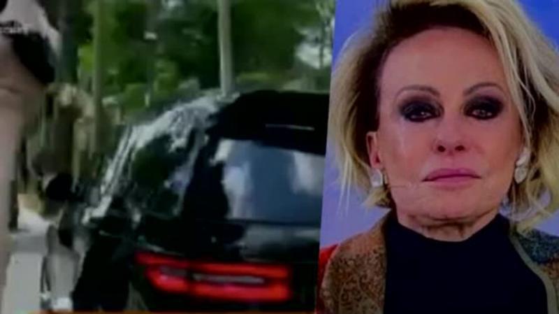 Ana Maria se despede de Tom Veiga e enterro acaba em confusão