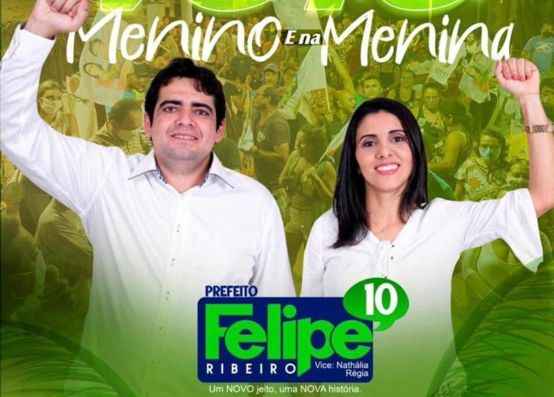 Cajueiro da Praia comemora vitória do jovem Felipe Ribeiro !!!