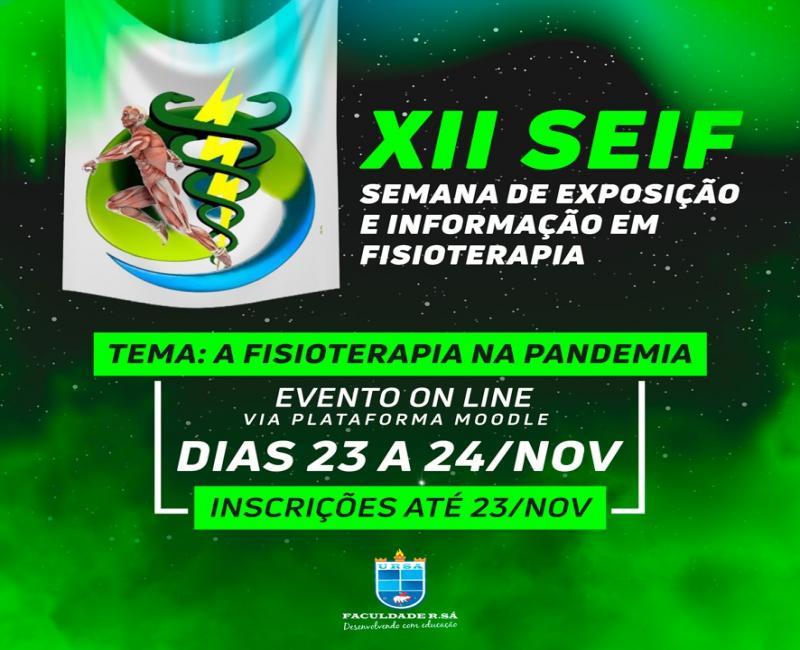 XII Semana de Fisioterapia acontece de 23 a 24 de novembro em Picos