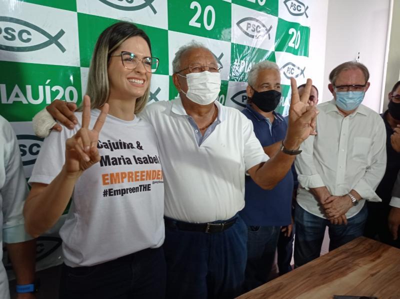 Gessy Fonseca anuncia apoio ao Dr. Pessoa para 2° turno em Teresina