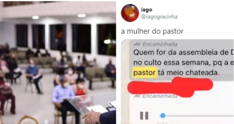 Pastor perde eleição, mulher desabafa contra igreja e viraliza