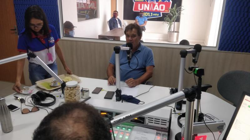 Gustavo medeiros participou do mesa Redonda programa Apresentado por Odilon Parente