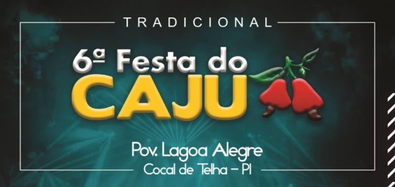 Festa do Caju em Cocal de Telha será no Sábado dia 28
