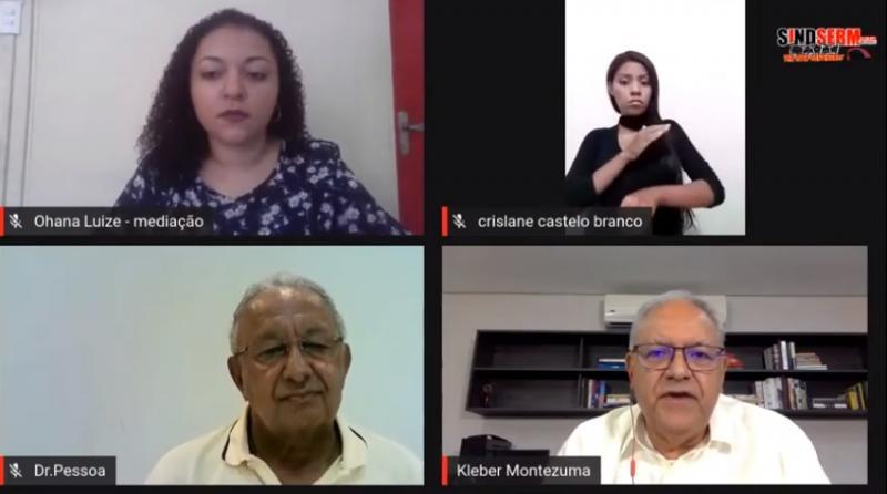 Pela primeira vez no 2º turno, Kleber e Dr. Pessoa participam debate político em Teresina