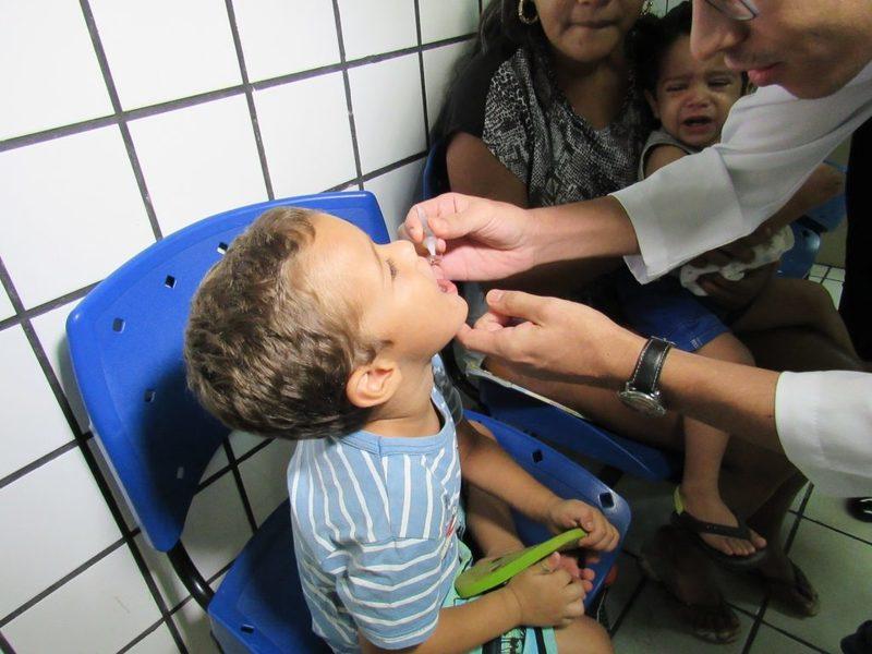 SMS prorroga campanha de vacinação contra a Poliomielite até dia 30 de novembro em Picos
