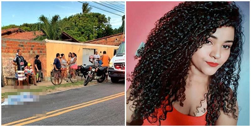 Jovem de 23 anos morre após ser atropelada por caminhão em cidade do Piauí