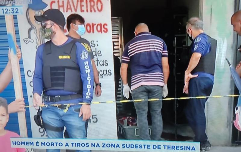 Adolescente é executado em loja na zona Sudeste de Teresina