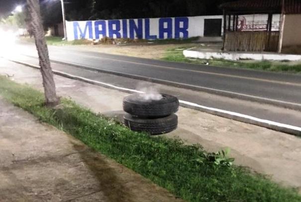 Mãe e filha ficam gravimente ferida após serem atengidas por uma roda de caminhão em Campo Maior