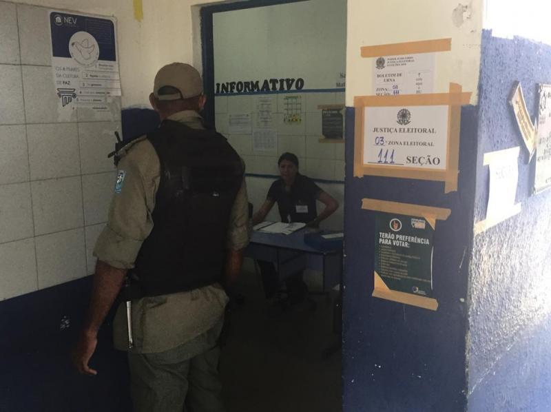 PM confirma que até o momento NÃO houve ocorrências durante as eleições em Teresina