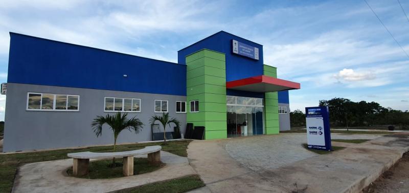UBS da Nova Santa Rosa em Uruçuí está na fase do paisagismo