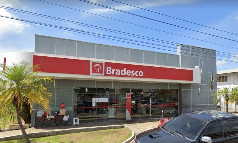 Parada dada: Bandidos roubam R$ 26 mil de cliente no banco Bradesco da Tabuleta em Teresina