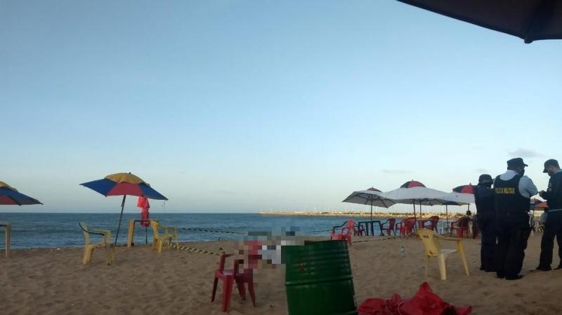 Turista morre após se afogar na Praia de Iracema