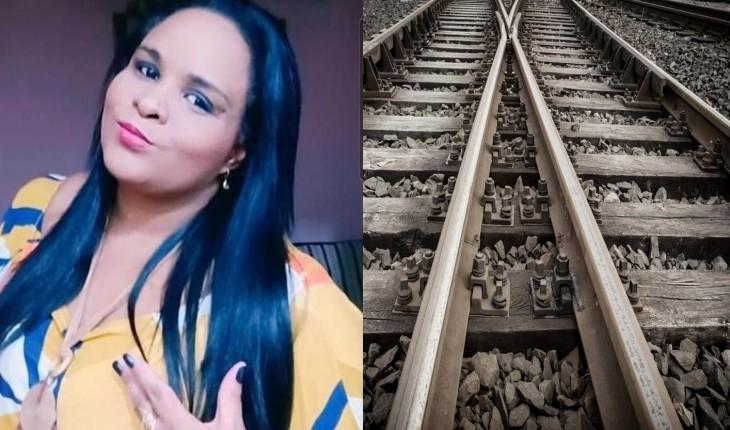 Mulher morre após cair em trilho durante assalto e ser atropelada por trem
