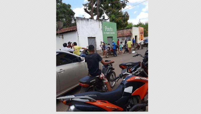 Comerciante é baleado durante assalto em Matias Olímpio