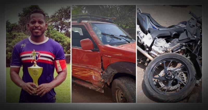 Acidente com moto mata ex-jogador, no Nordeste