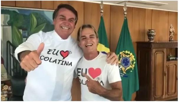 'Melhor prefeito do Brasil' se encontra com Jair Bolsonaro