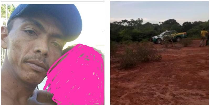 Homem desaparecido é encontrado morto após ser raptado por 'facção' em Nazária