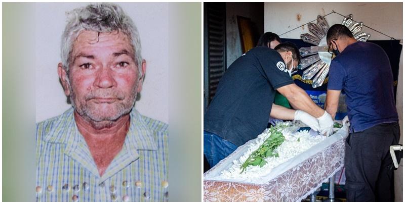 Perícia interrompe velório e recolhe corpo de idoso encontrado morto em caixa d'água no Piauí