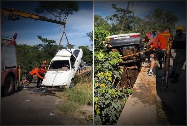 Tragédia! Seis crianças e um adulto morrem após carro cair dentro de rio