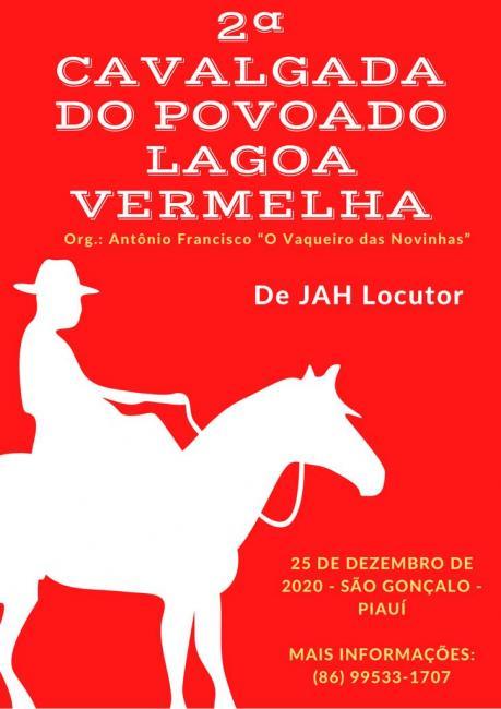 São Gonçalo do Piauí - Natal será de cavalgada no Povoado Lagoa Vermelha