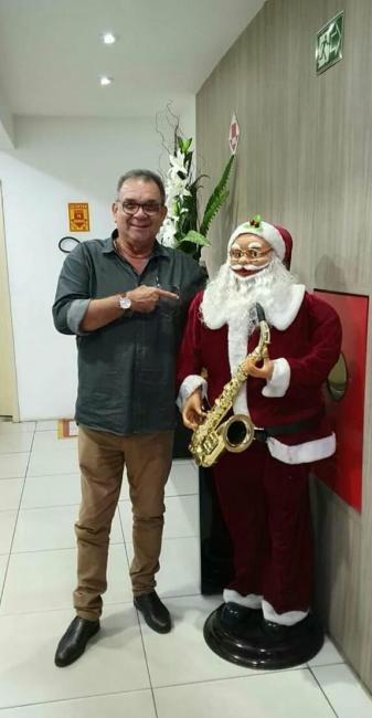 Nel do Avança Piauí, posta vídeo desejando Feliz Natal, aos Piauienses