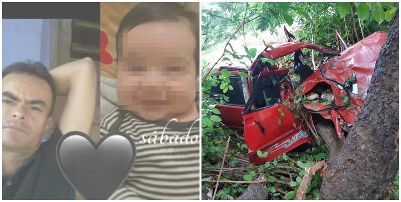 Tragédia! Recém-nascido e homem morrem após carro bater em árvore na BR 316, no Piauí