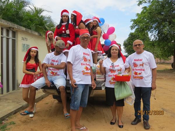 V Natal Solidário 2020 de Colônia do Gurgueia é realizado em novo formato