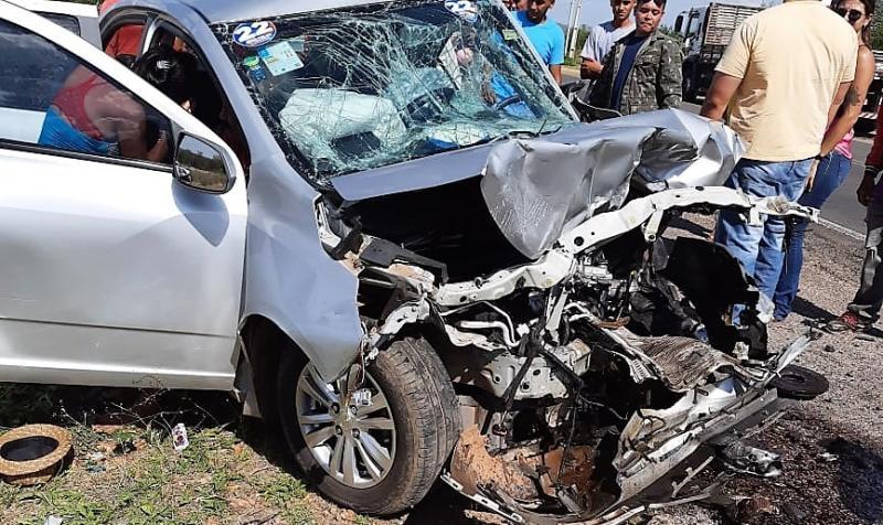 Tragédia! Grave acidente deixa dois mortos e cinco feridos no Piauí