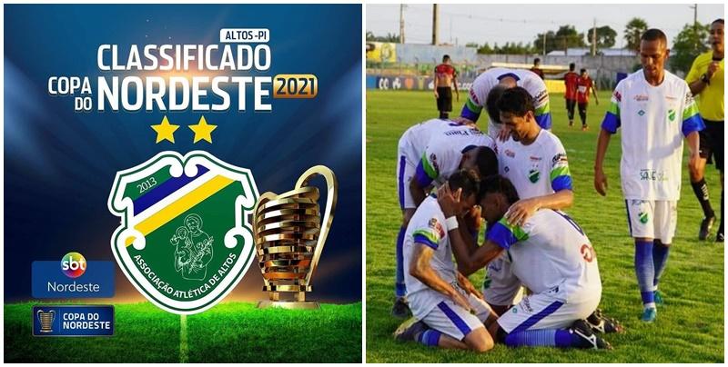 Altos-PI despacha o Globo-RN e garante vaga na Copa do Nordeste 2021