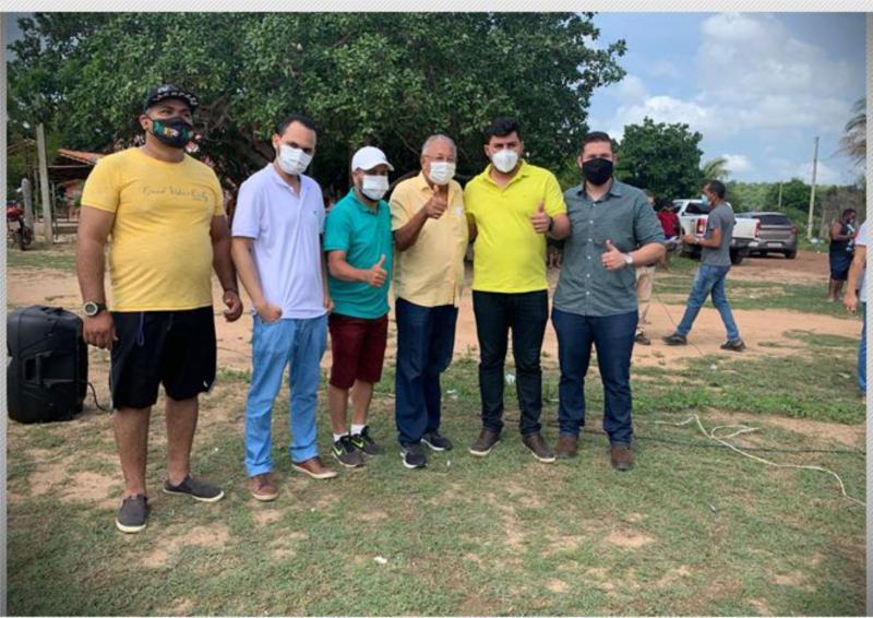 Prefeito Doutor Pessoa participa de copa na zona rural e destaca ações para o esporte teresinense