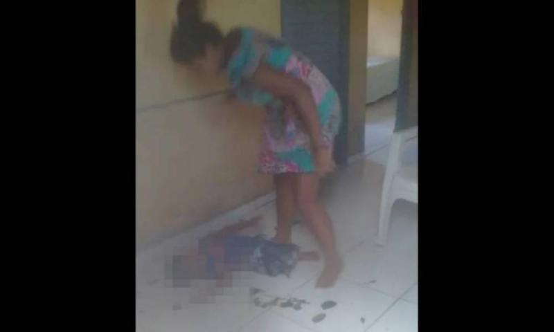 Urgente: Mulher é presa após ser filmada espancando criança no sul do Piauí