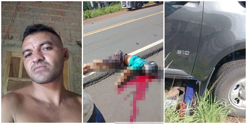 Grave acidente entre motocicleta e picape deixa um morto na BR-343, no Piauí
