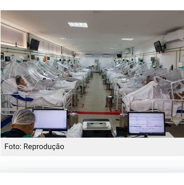 Manaus vive colapso com hospitais sem oxigênio cemitérios sem vagas e toque de recolher