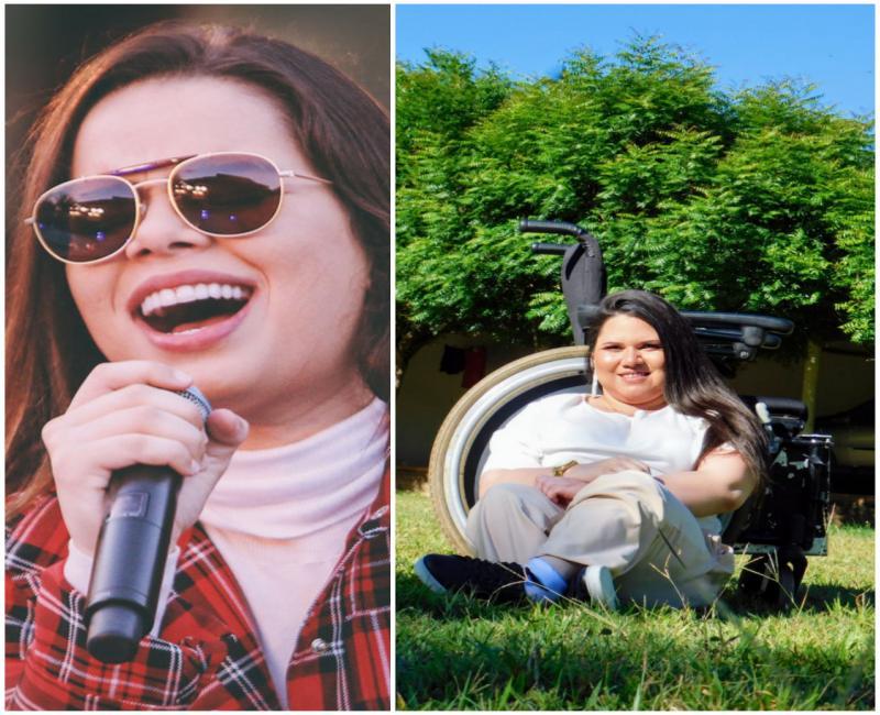 Jovem unionense Luana pierot quer realizar o Sonho de conhecer a cantora Maria Clara.