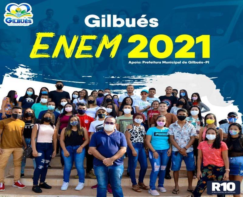 Prefeitura de Gilbués garante transporte para realização do ENEM
