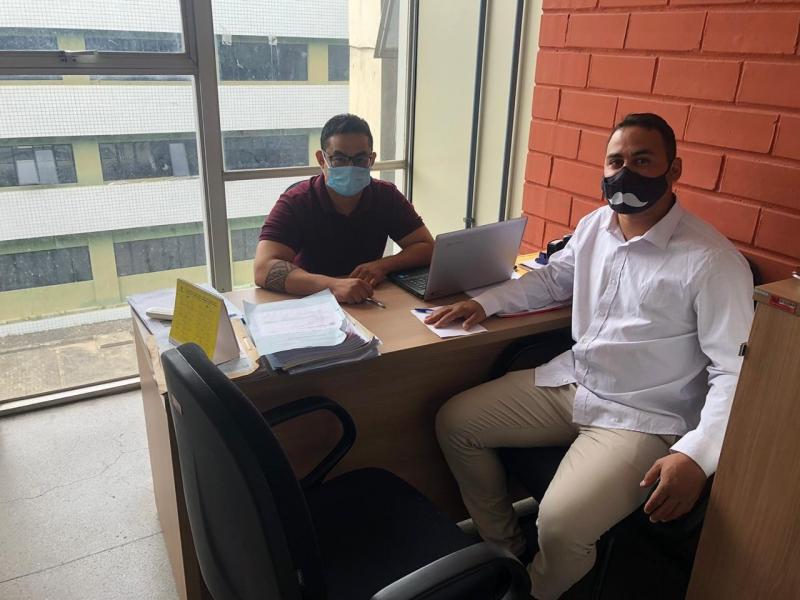 Vereador Henrique Guerra realiza vista a Fundespi
