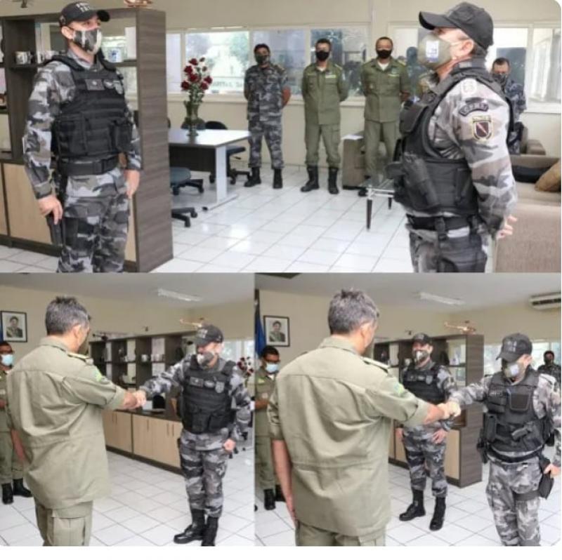Capitão Luz não é mais comandante do policiamento em União.