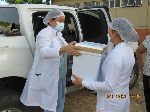 Colônia do Gurgueia recebe as primeiras doses da vacina contra a covid-19