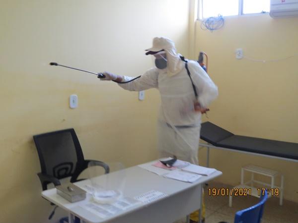 Colônia do Gurgueia: Unidade Básica de Saúde recebe serviço de dedetização