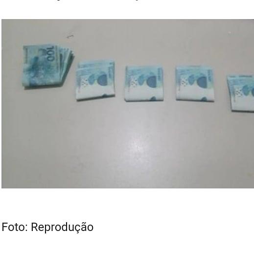 Jovem é preso com 4,7 mil reais em cédulas falsas