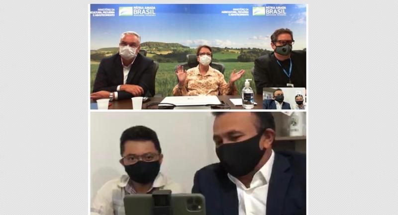 Fábio Abreu se reúne com ministra e estações climatológicas do Piauí serão recuperadas
