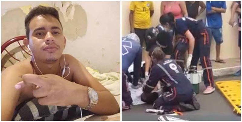Jovem 'empina pneu de moto', cai e morre em cidade do Piauí