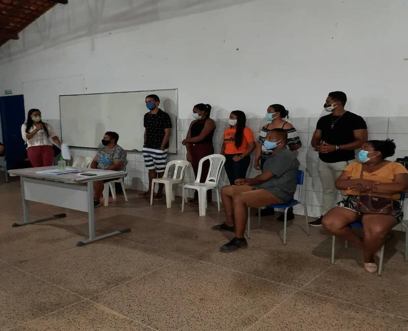 Colônia do Gurgueia: Reunião com os Comerciantes para tratar assuntos sobre o combate à Covid-19