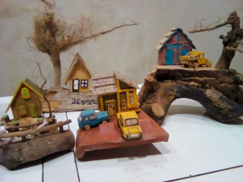 OFICINA DO ARTESANATO | Artesanato rústico em Demerval Lobão; confira