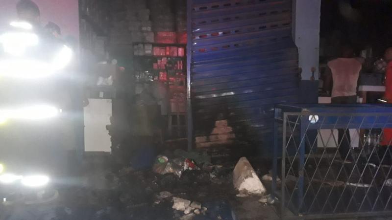 Princípio de incêndio atinge box na Ceapi e assusta trabalhadores em Teresina
