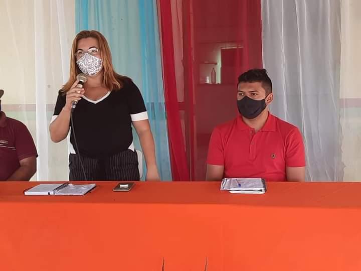 Prefeita Vilma Lima participa da abertura da Caravana Comunitária de São João do Arraial