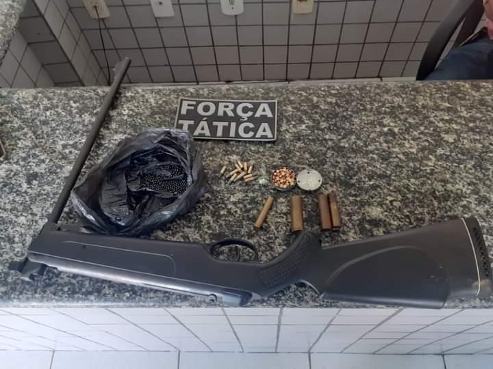 Força Tática prende indivíduo acusado de disparos na PI 120.