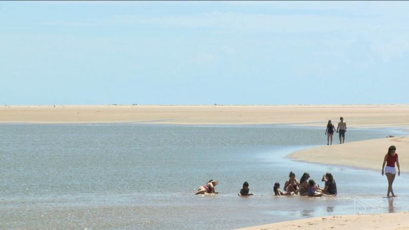 Bombeiros buscam turista que desapareceu na Ilha dos Poldros, no Delta do Parnaíba