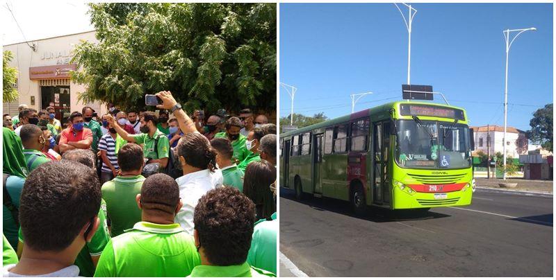 Motoristas e cobradores de ônibus encerram paralisação em Teresina